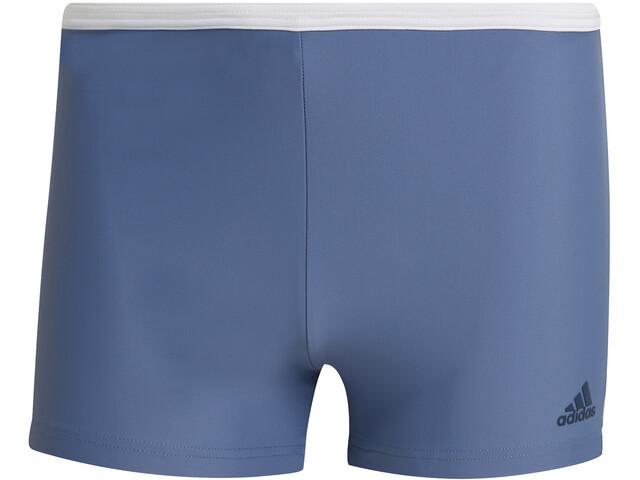 adidas Fit White 3S Boxers Men, crew blue/white